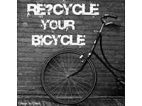 Please Let Me Recycle Your Bicycle