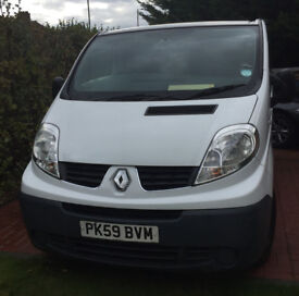 2009 RENAULT TRAFIC VAN, 66000 MILES ,ONE OWNER, ONE YEAR MOT, AIR CONDITION ,EXCELLENT VAN ,NO VAT