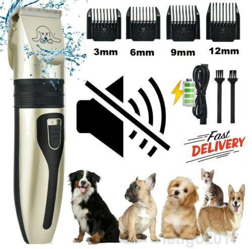 Pet Dog Cat Grooming Clippers Hair Trimmer Groomer Shaver Razor Quiet Clipper
