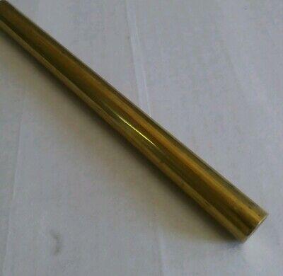 1 Pc C360 Brass .5 Round Rod Stock 12 Long Lathe Machinist New Solid Bar 12