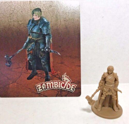 Zombicide Black Plague LADY GRIMM  w/card CMoN