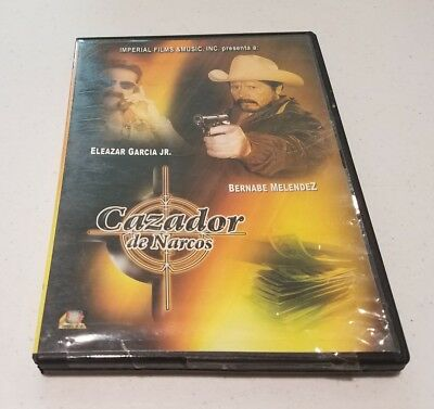 Cazador De Narcos  RARE DVD (SPANISH LANGUAGE & SUBTITLES) MADE IN MEXICO