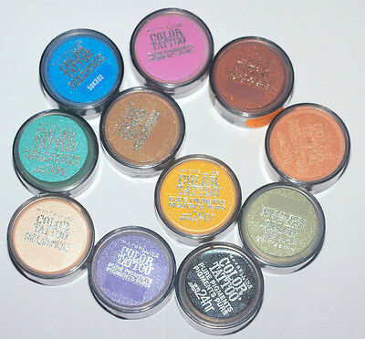 Free Shipping When You Buy 10   Maybelline Color Tattoo Pure Pigments Eyeshadow