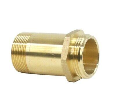 1-12 Fire Hose Rack Nipple - 1 Mnpt X 1 Mnst 350-100-00720 Hydrant Adapter