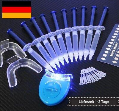 Bleeching Bleaching Zahnaufhellung 4% Peroxid XXL Kit für Zähne bleichen