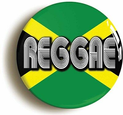 reggae jamaica flag badge button pin (1inch/25mm diametr) rastafarian jamaican