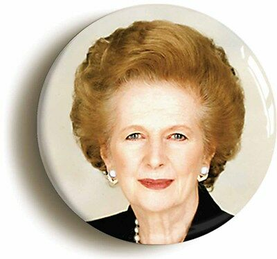 margaret thatcher badge button pin (size is 1inch/25mm diameter) retro eighties