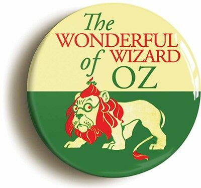 wonderful wizard of oz badge button pin (1inch/25mm) w w denslow illustration