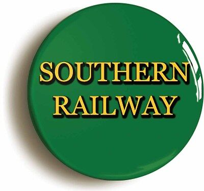 southern railway badge button pin logo (size 1inch/25mm diameter) british rail