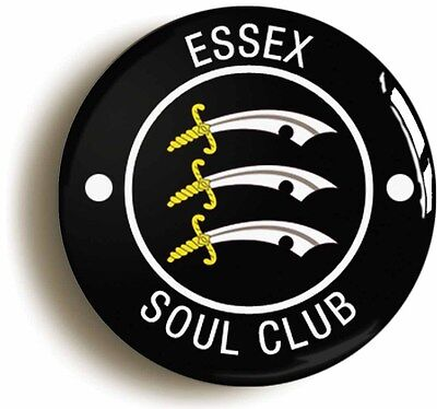 essex northern soul club badge button pin (1inch/25mm) keep faith wigan casino