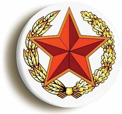 soviet red army star badge button pin (1inch/25mm diameter) ww2 communist