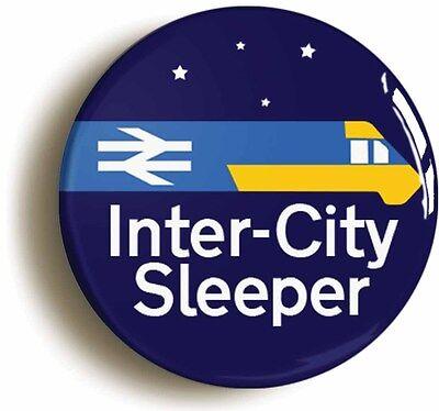 british rail inter city sleeper railways badge button pin (1inch/25mm diamter)