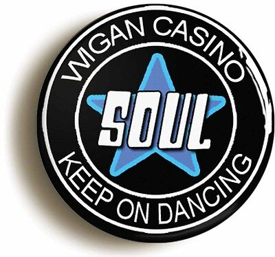 keep on dancing northern soul badge button pin (size is 1inch/25mm diameter)