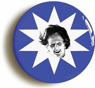 margaret thatcher maggie retro eighties badge button pin (1inch/25mm) 1980s