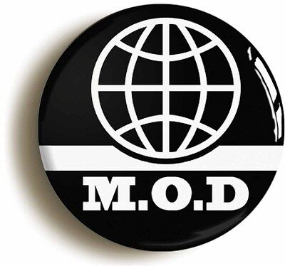 mod international retro sixties badge button pin (1inch/25mm diameter) 1960s