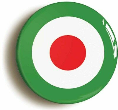 mod italian  retro sixties mod badge button pin (1inch/25mm diameter) 1960s