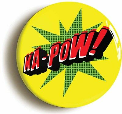 ka-pow! comic pop art badge button pin (1inch/25mm diameter) funny geek chic