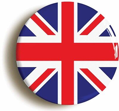 union jack badge button pin (1inch/25mm diameter) british flag mod sixties