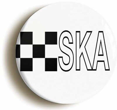 ska badge button pin (1inch/25mm diameter) 2 two tone madness specials punk
