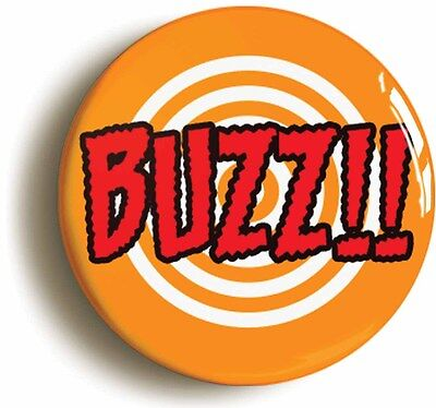 buzz superhero comic pop art badge button pin (1inch/25mm diameter) geek chic
