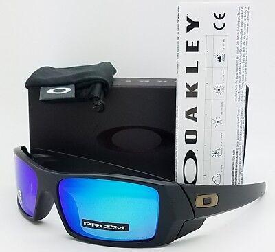 f4e6874d4c NEW Oakley Gascan sunglasses Black Prizm Sapphire Polarized 9014-50 GENUINE  9014