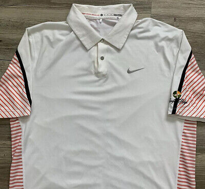 Nike TIGER WOODS Collection Performance Polo Golf Shirt $100 MSRP