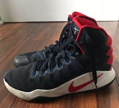 9786443d2021 Nike Hyperdunk Men s Size 8 Obsidian Black Bright Crimson Red 844359-446
