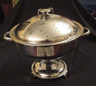 Vollrath Orion 4 Qt Round Chafing Dish Or Chafer Model 46503