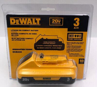NEW DEWALT DCB230 20V Lithium Ion Battery