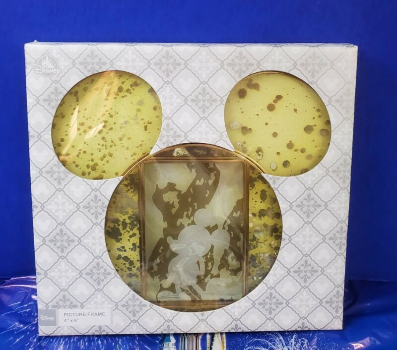 Disney Mickey Mouse Icon Silhouette  4x6 Photo Picture Frame