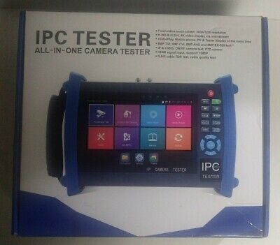 Wsdcam 7 Sadh Plus All-in-one 1080p Touch Display Ip Camera Ptz Cctv Tester New