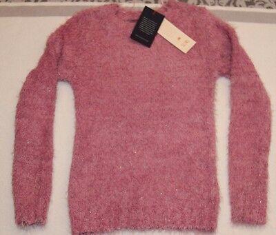 Mädchen Kuscheliger Pullover Pulli in Pink Gr.140 (10 Jahre)
