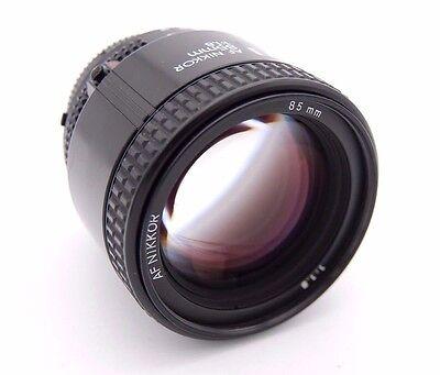 Nikon Af Nikkor 85mm F/1.8D Estándar Objetivo segunda mano  Embacar hacia Spain
