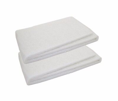 "2x Aquarium Pond Filter Pad 48"" x 12"" x 0.75"" Thick Bulk Cut  Fit Reef Fish Tank"