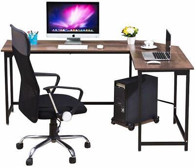 Modern L-shaped Corner Computer Office Desk