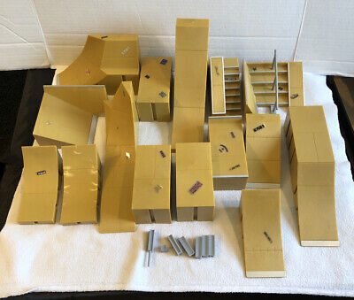 Huge lot 15 Tech Deck Skateboard Park Plastic Ramps with Connectors  Tony Hawk