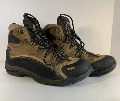 Asolo Mens Gore-Tex Suede Waterproof Hiking Boots Shoes Sz 11 BEST GUESS ON (Best Mens Waterproof Shoes)