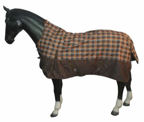 Highneck Weidedecke 600D Fleece HKM Regendecke Outdoordecke Pferdedecke Decke