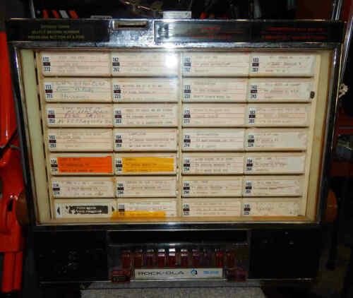 Used RockOla Model 506 Jukebox Wall Box