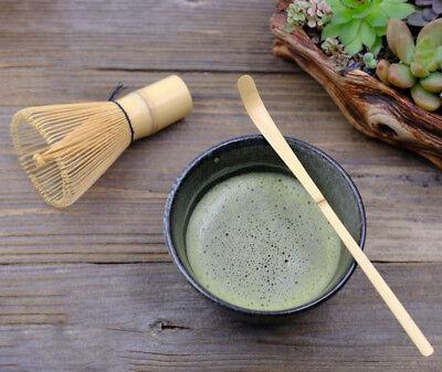 Matcha Whisk Brush Set w Bowl Scoop Japanese Green Tea Bamboo Preparing Tool
