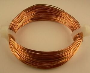 COPPER-ROUND-WIRE-14GA-SOFT-2-OZ-11-FT-GENUINE-SOLID-BARE-COPPER-USA