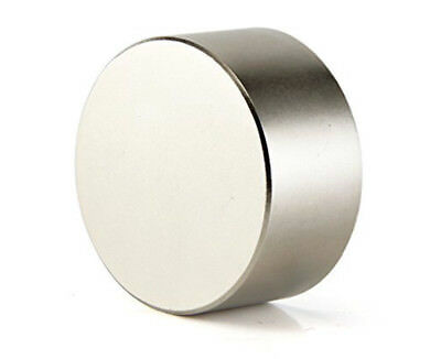 Large 40mm Neodymium Rare Earth Craft Magnet Big Super Strong Huge Size