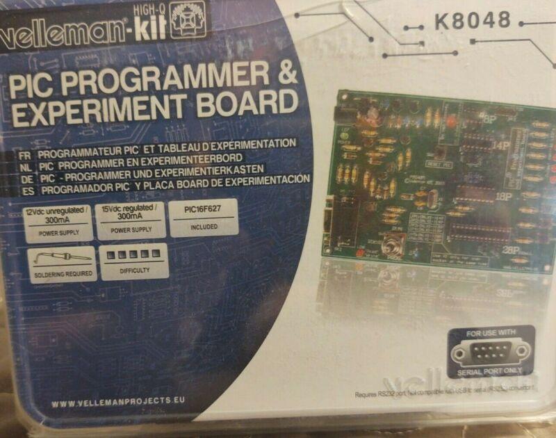 Velleman PIC Programer & Experiment Board