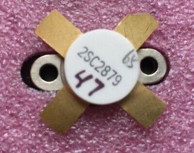 2sc2879-2 Power Transistor Silicon Npn 12v 100 Watt Matched Set Of 2pcs