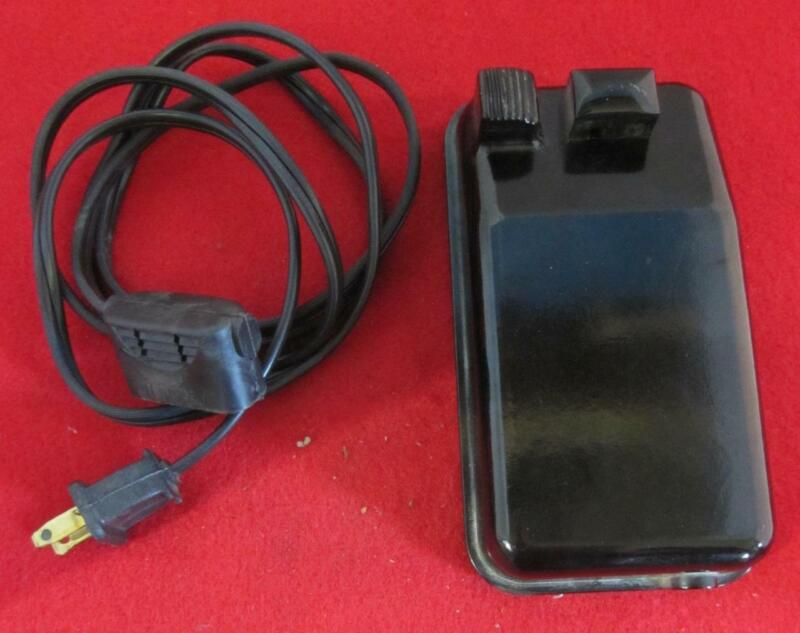Singer 194588 Motor Foot Controller Fits 15, 66, 99 & 201 Featherweight NO CORD