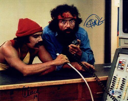 Cheech Marin Tommy Chong Signed Autograph 8x10 Photo Up In Smoke BAS Beckett COA