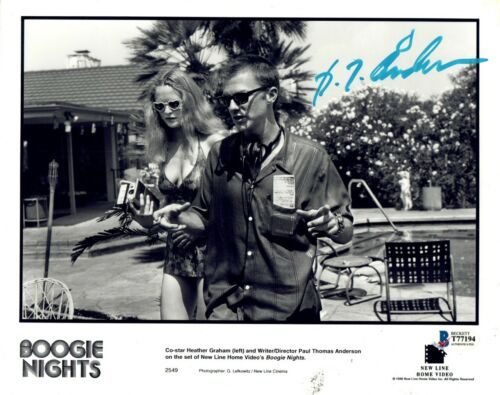 Paul Thomas Anderson Signed Autographed 8x10 Photo BOOGIE NIGHTS BAS Beckett COA