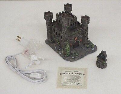 RARE Universal Studios Monsters Hawthorne Village Castle Frankenstein EXCELLENT