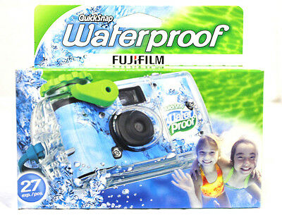 20 Fuji Quicksnap One Time Use Underwater Disposable Waterproof Camera / 2015