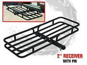 Deluxe Steel Cargo Carrier Rack Luggage Basket Hitch Towbar Car 4 Frankston Frankston Area Preview